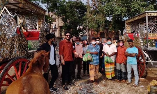 ঢাকার ঐতিহ্য রক্ষায় ও সুবিধা বঞ্চিতদের পাশে টুগেদার ফর বাংলাদেশ